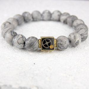 Frosted netstone bracelet