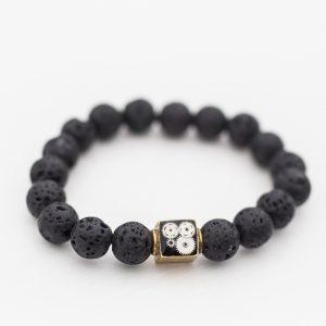 Lava bead bracelet