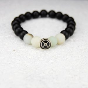 Onyx bead bracelet