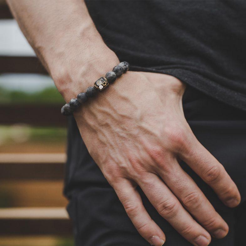 Labradorite bracelet
