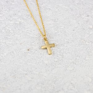 small cross pendant