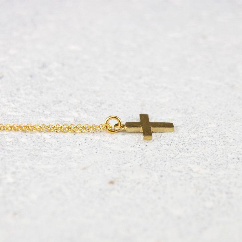 small cross pendant