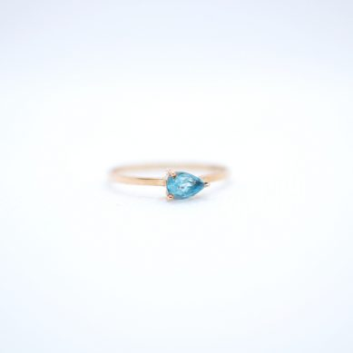 Pear Shape stone ring