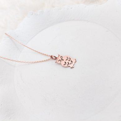 owl pendant necklace