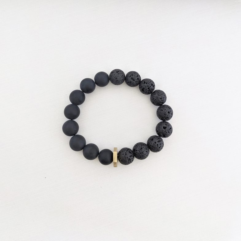 Mens stretch bracelet