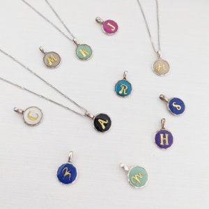 Initial pendant